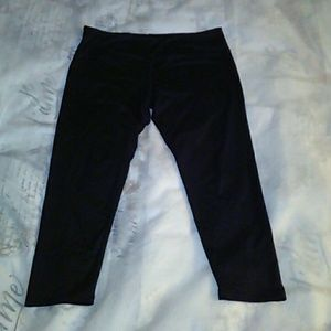 FASHION NOVA  WOMEN'S BLACK  LEGGINGS SZ XL